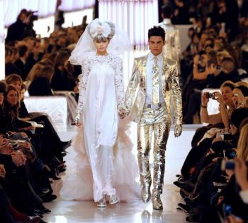 Abbey Lee Kershaw and Baptise Giabiconi, SS10